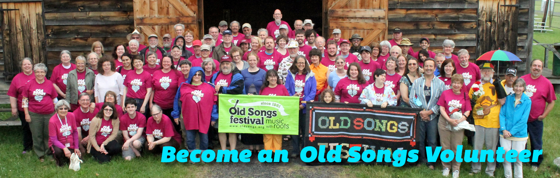 Volunteer at the Old Songs Festival